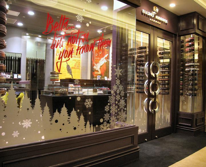 エリオットローズロンドンハービスプラザ店 クリスマスデコレーション