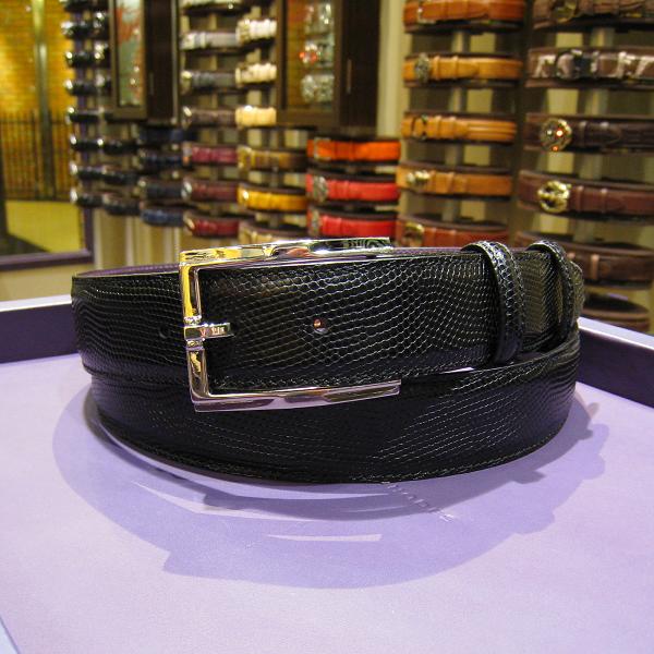 エリオットローズロンドン メンズ ベルト 35mm ブラック