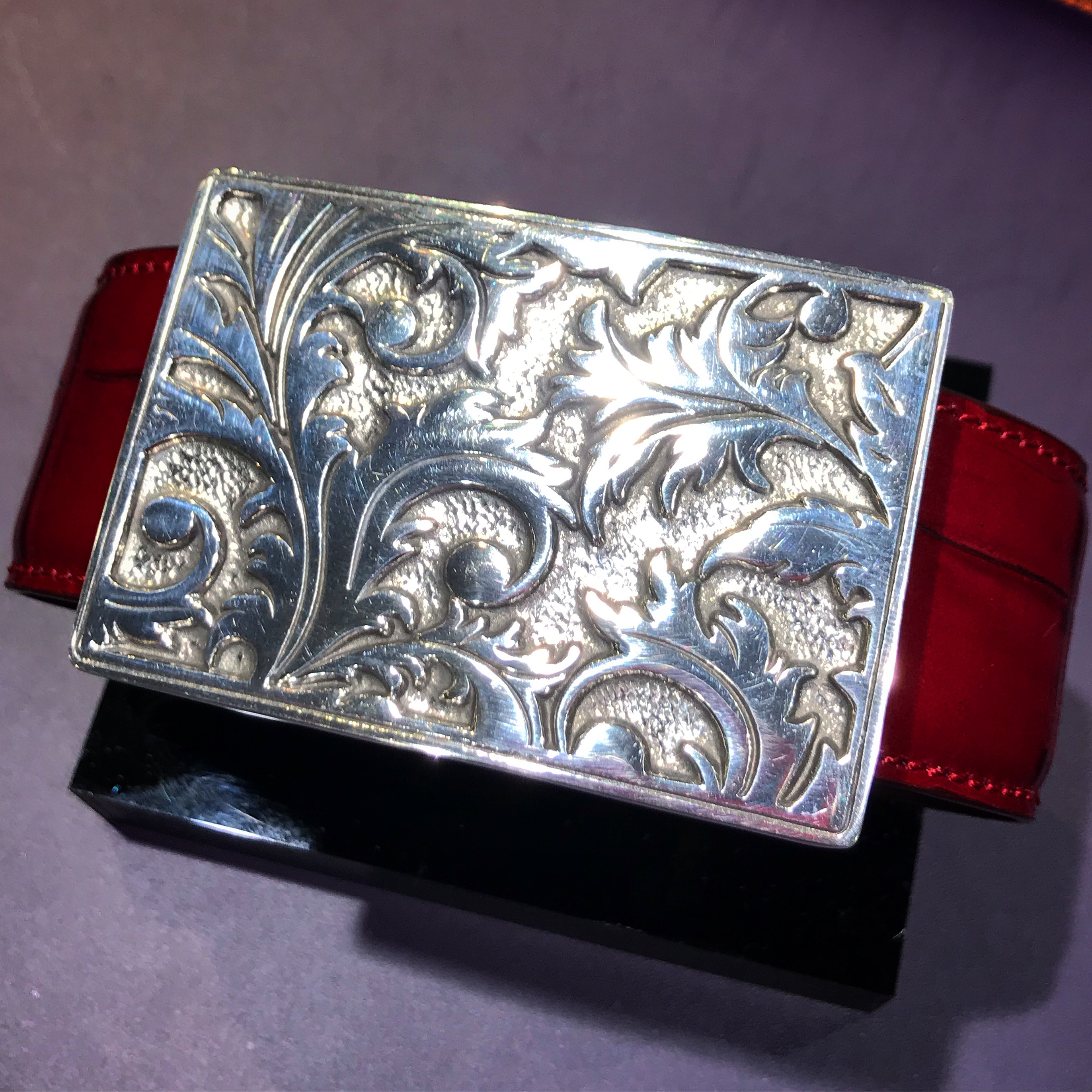 PEWTER BUCKLE