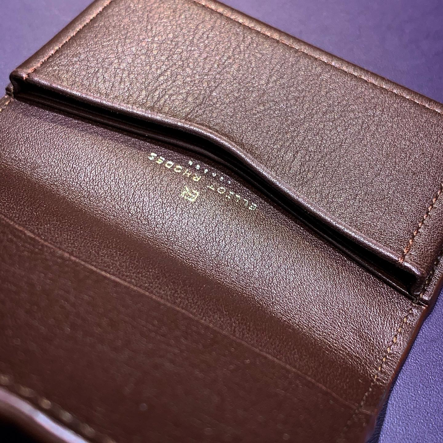ELLIOT RHODES LONDON CARD CASE