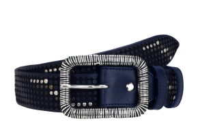 CLYDE STUDDED NAVY