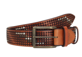 CLYDE STUDDED TAN